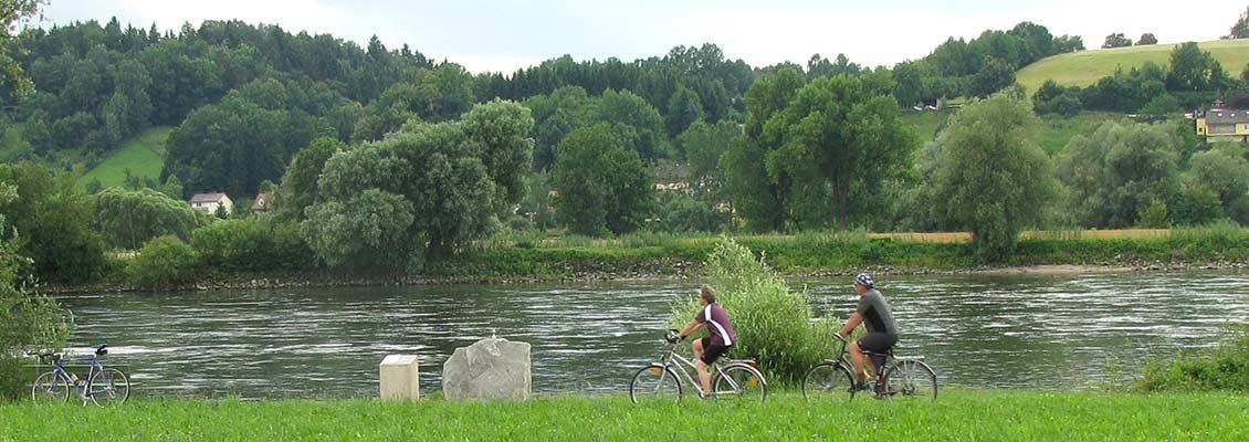 Radweg entlang der Donau - Donauplanetenweg